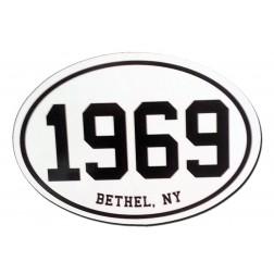Bethel Woods 1969 Car Magnet