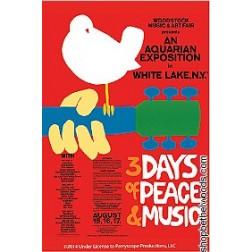 Woodstock Poster: Magnet