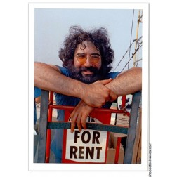 Jerry Garcia: Postcard: Fine Art Musician