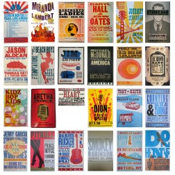 Hatch Poster Concert Series Set - Collectible Hatch Show Print