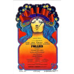 Follies Musical: Final: Original David Byrd Print