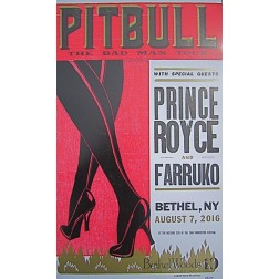Pitbull - Collectible Hatch Show Print