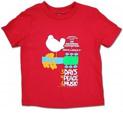Children's Woodstock Poster T-Shirt