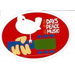 Woodstock Car Magnet