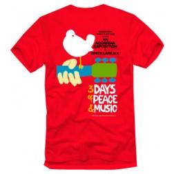 Original Woodstock Poster T-Shirt