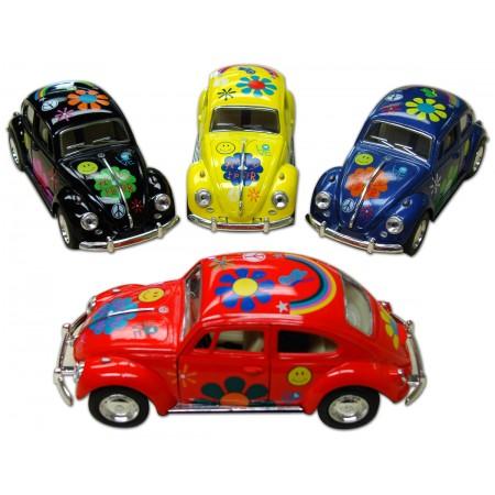Happy Hippie Car Pullback Toy