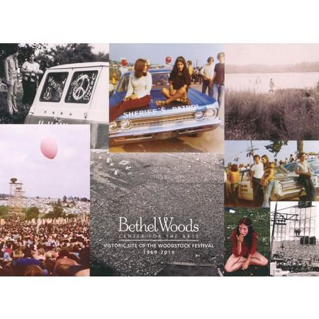 Original Woodstock Photo Postcard - Collage