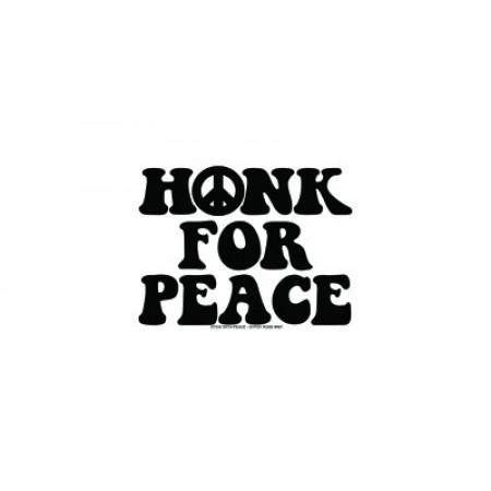 Honk For Peace Sticker