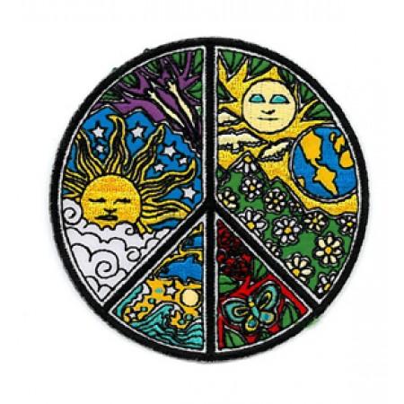 Patch-Peace/Sun/Nature Dan Morris Patch