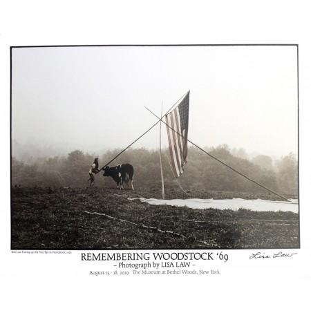 Remembering Woodstock '69 Poster