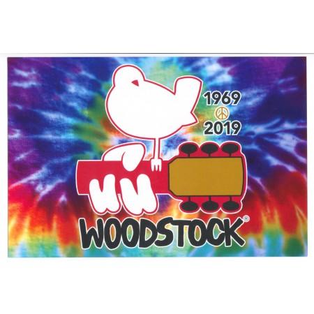 Woodstock Tie Dye Sticker