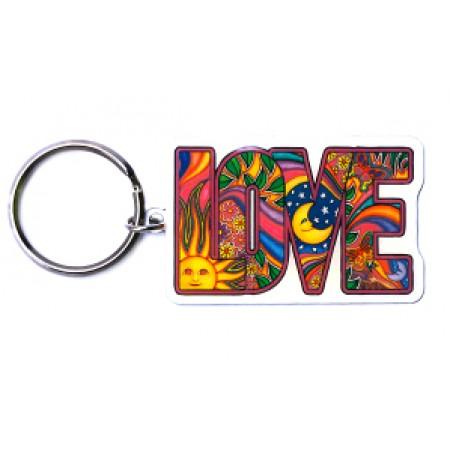 Keychain-LOVE Sun