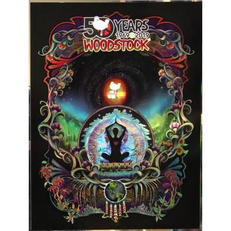 Woodstock 50th Anniversary Poster Stardust