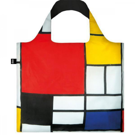 Bag-LOQI Mondrian Geometric Reusable Tote