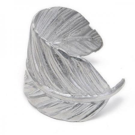 Bracelet-Feather Light Aluminum Cuff