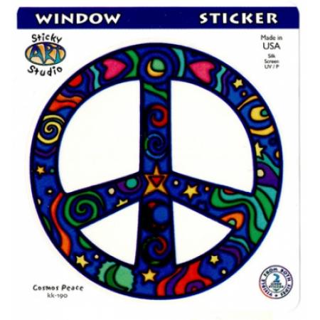 STKR-Peace Window Sticker