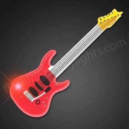 Guitar - Flashing LED Lights Xmas
