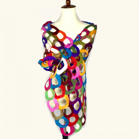 Scarf - Ring Multicolor Scarf