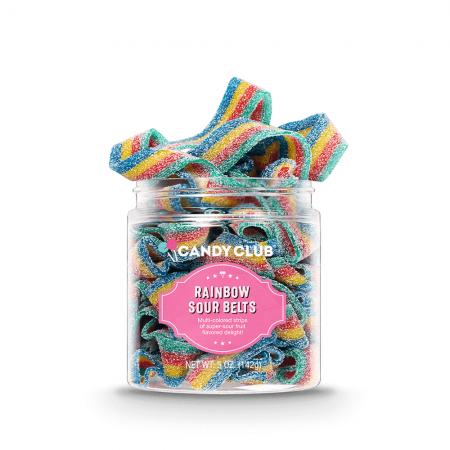 Candy - Rainbow Sour Belts
