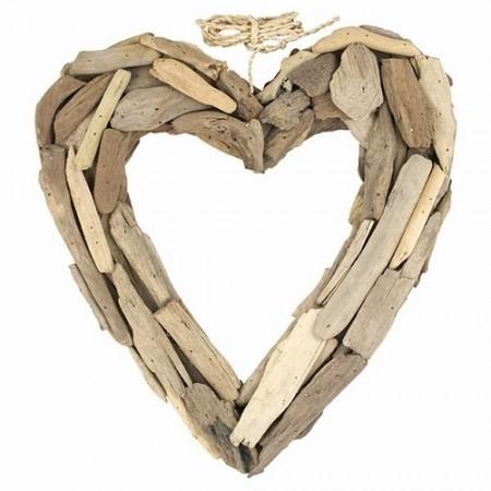 Driftwood Open Heart - Large