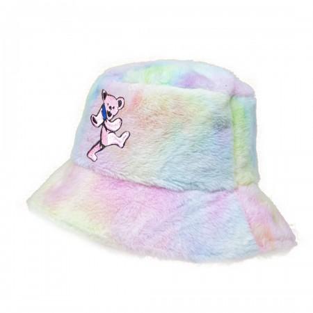 Bucket Hat - Grateful Dead Tie Dye Fur Bucket Cap