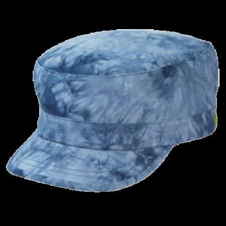 "Hat - ""Holland"" Blue Tie dye Cap"