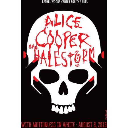 Alice Cooper Concert Poster 2019
