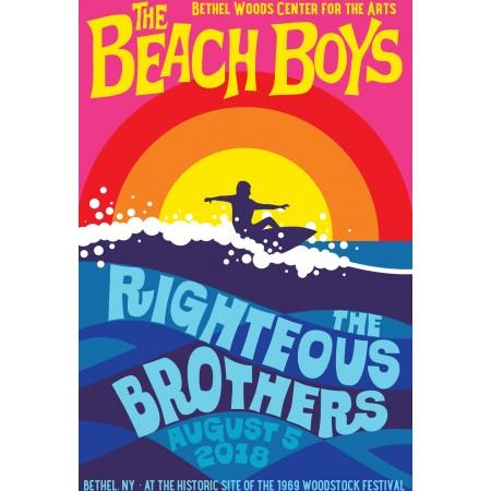 2018 Concert Posters-Beach Boys