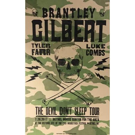 Brantley Gilbert- Collectible Hatch Show Print