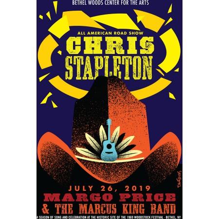 Chris Stapelton Concert Poster 2019