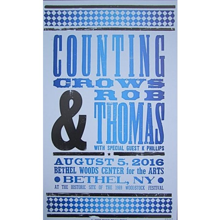 Counting Crows - Collectible Hatch Show Print