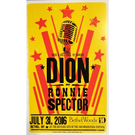 Dion - Collectible Hatch Show Print