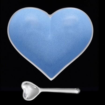 Dish - Powder Blue Heart Dish