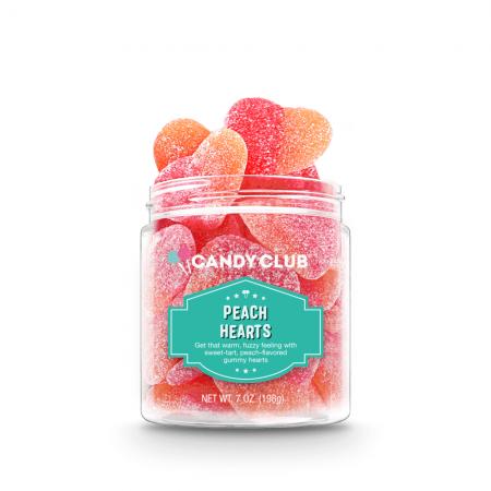 Candy - Peach Hearts