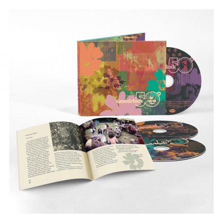 Woodstock Back to the Garden 50th Anniversary Collection 3 CD Set