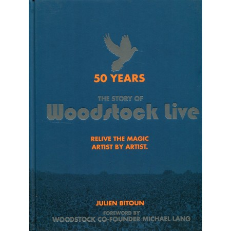 Woodstock Live Hardcover Book