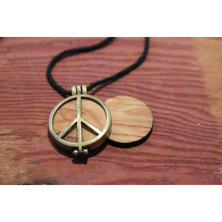 Peace of the Stage Necklace- Bronze