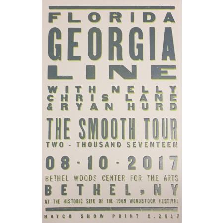 Florida Georgia Line- Collectible Hatch Show Print