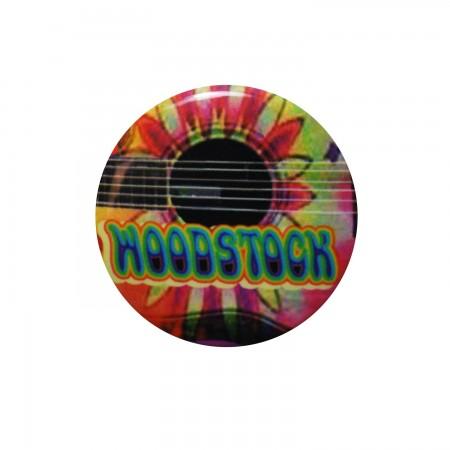 Woodstock Flower Guitar: Button