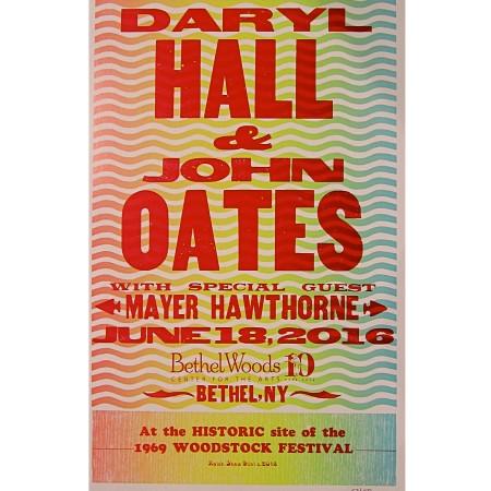 Hall & Oates Hatch Print