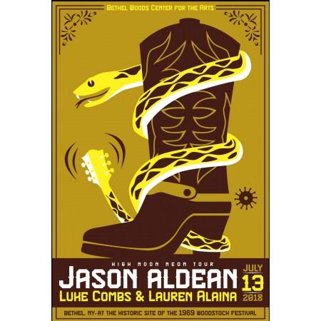 2018 Concert Posters-Jason Aldean