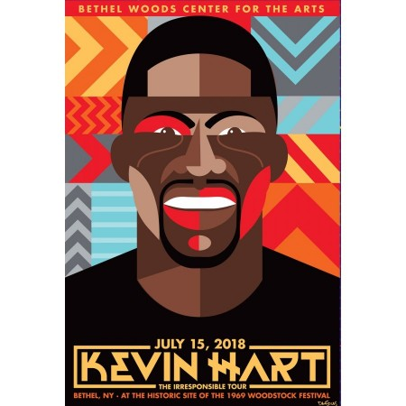 2018 Concert Posters-Kevin Hart