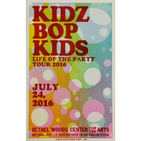Kidz Bop Kids - Collectible Hatch Show Print