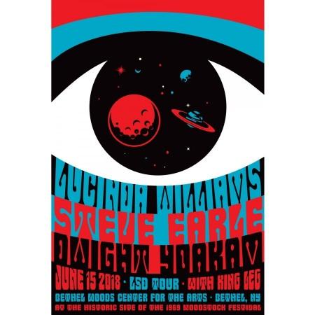 2018 Concert Posters-LSD Tour