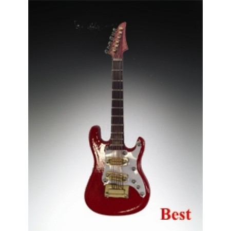 """Magnet-4"""" Red Electric Guitar"""