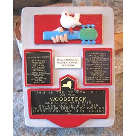 Woodstock Monument Artisan Statue