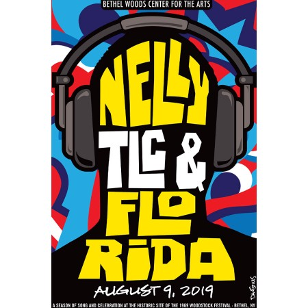 Nelly_TLC_Florida Concert Poster 2019