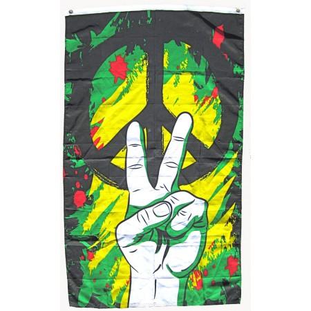 Peace Hand Flag