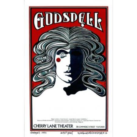 Godspell At Cherry Lane Theatre: Final: Original David Byrd Print