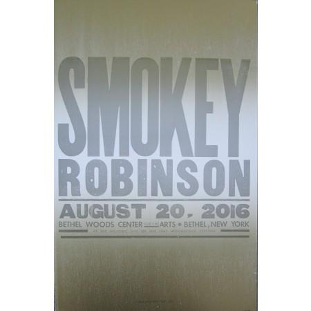 Smokey Robinson - Collectible Hatch Show Print